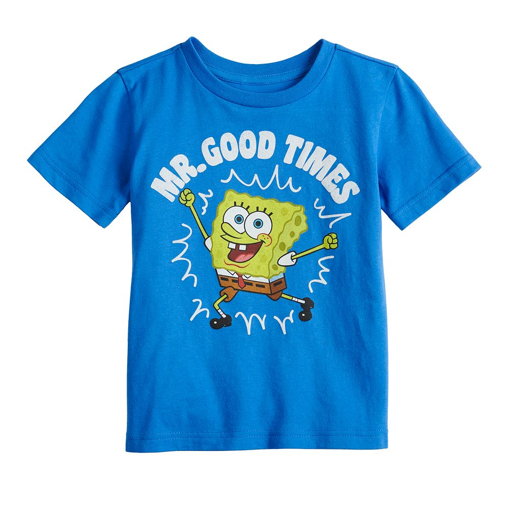 "Toddler Boy Jumping Beans® Sponge Bob ""Mr. Good Times"" Graphic Tee"