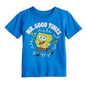 "Toddler Boy Jumping Beans® Sponge Bob ""Mr. Good Times"" Graphic Tee"