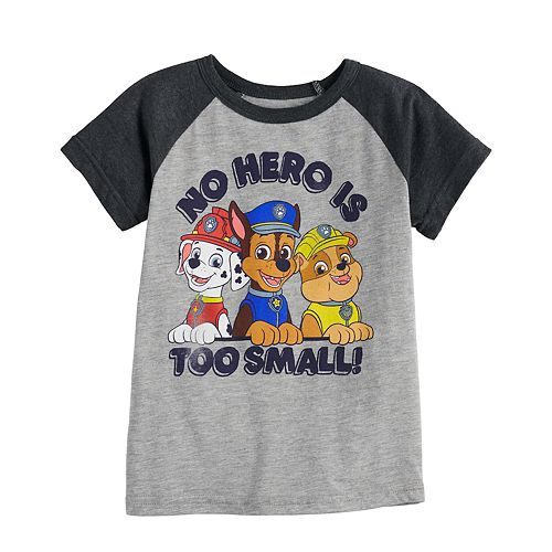 "Toddler Boy Jumping Beans® Paw Patrol ""No Hero Is Too Small"" Graphic Tee"