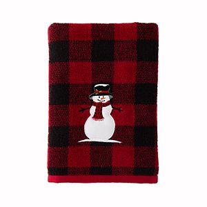 Saturday Knight, Ltd. Woodland Winter Bath Towel