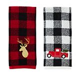 Saturday Knight, Ltd. Stag & Truck 2-Piece Hand Towel Set