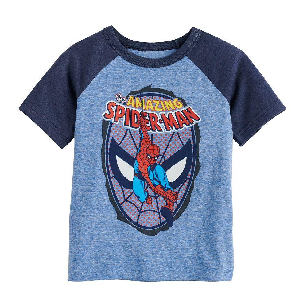 Toddler Boy Jumping Beans® Marvel Spider-Man Raglan Graphic Tee