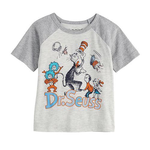 Toddler Boy Jumping Beans® Dr. Seuss Raglan Graphic Tee