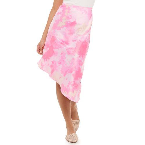 Juniors' Candie's® Assymetrical Slip Skirt