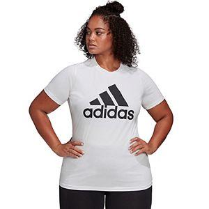 Plus Size adidas Logo Graphic Tee