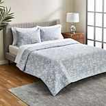 Scott Living Pacific Meadow Quilt Set with Shams