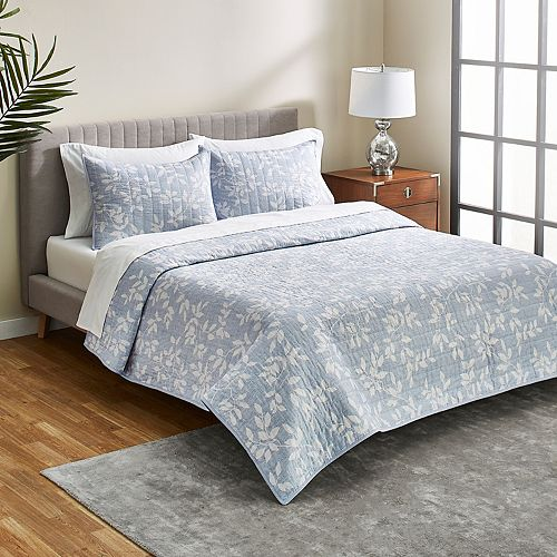 Scott Living Pacific Meadow Quilt and Sham Set
