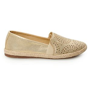 SO® Amberly Girls' Espadrille Flats