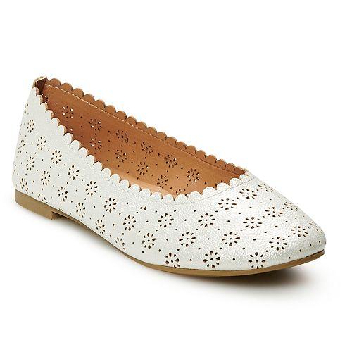 SO® Faye Girl's Ballet Flats