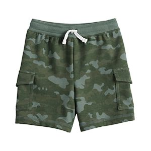 Toddler Boy Jumping Beans® Camo Knit Cargo Shorts