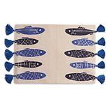 Celebrate Summer Together Fish Tassel Placemat
