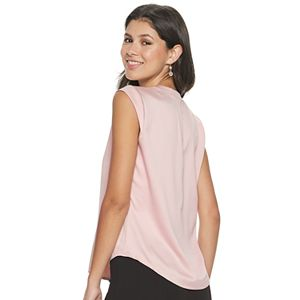 Juniors' Candie's® Button-Front Tank