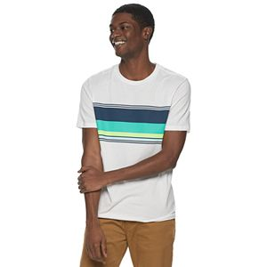 Men's Urban Pipeline Chest-Stripe Tee