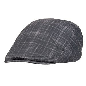 Men's Levi's Plaid Flat-Top Ivy Cap