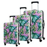 Chariot Paradise Hardside 3-Piece Spinner Luggage Set
