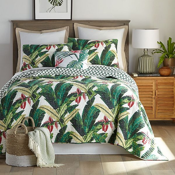 Dominica Quilt Set With Shams