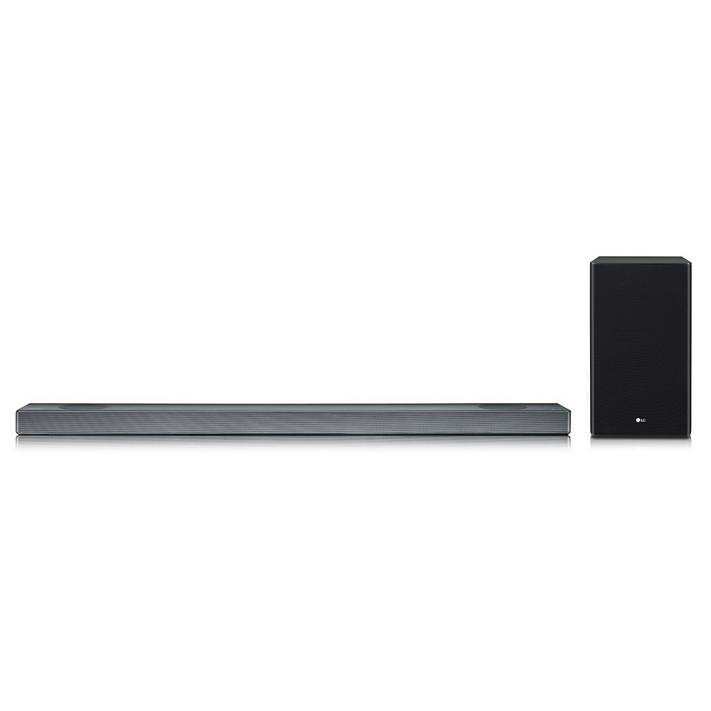 LG 4.1.2 ch High Res Audio Soundbar with Dolby Atmos & Google Assistant Built-In