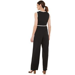 Women's Chaps Sleeveless Jumpsuit