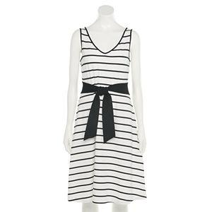 Women's Apt. 9® Cinch-Waist Fit & Flare Dress