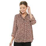Women's Apt. 9® Long Sleeve Convertible Blouse