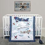 Sammy & Lou Adventure Awaits 4 Piece Crib Bedding Set