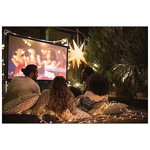 GPX 70-inch Indoor/Outdoor Projection Screen