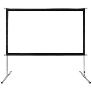 GPX 90-Inch Indoor/Outdoor Projection Screen