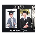 "Malden 2-opening ""2020 Then & Now"" Graduation Frame"