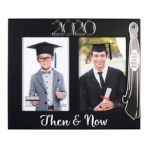 "Malden 2-opening ""2020 Then & Now"" Graduation Frame"