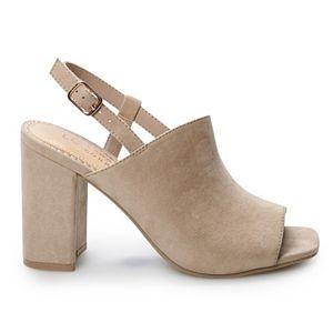 LC Lauren Conrad Alexandrite Women's High Heel Sandals