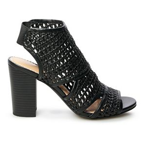 LC Lauren Conrad Morganite Women's Ankle Boots
