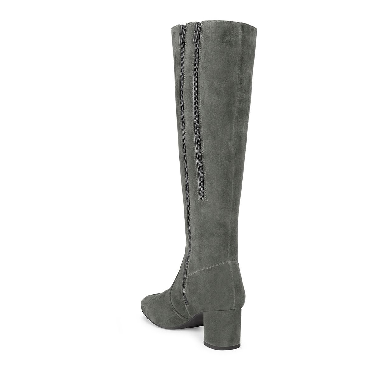 Aerosoles Cannonball Women's Tall Boots Gray Suede CIEAT