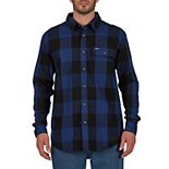 Men's Smith's Workwear Buffalo Plaid Flannel Button-Down Shirt
