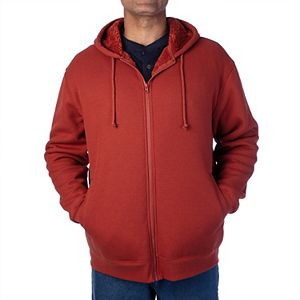 Men's Smith's Workwear Sherpa-Bonded Thermal Knit Hooded Jacket