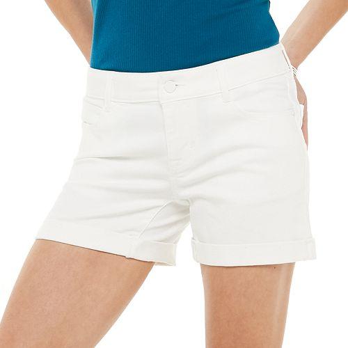 Women's Apt. 9® Denim Rolled Shorts