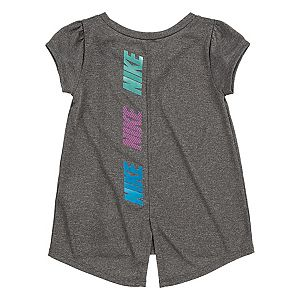 Toddler Girl Nike Dri-FIT Short Sleeve Vented Tunic Top