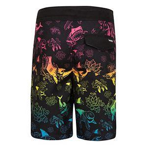 Boys 4-7 Hurley Ombre Ocean Board Shorts