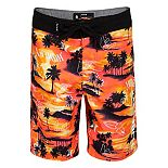 Boys 4-7 Hurley Doodle Palm Trees Board Shorts