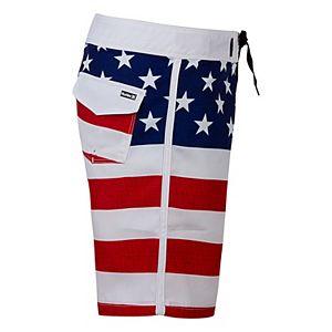 Boys 4-7 Hurley Patriotic Stars & Stripes Board Shorts