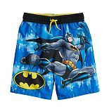 Boys 4-7 DC Comics Batman Swim Trunks