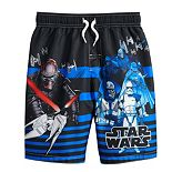 Boys 4-7 Star Wars Swim Trunks