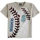 Youth Cream Seattle Mariners Hardball T-Shirt