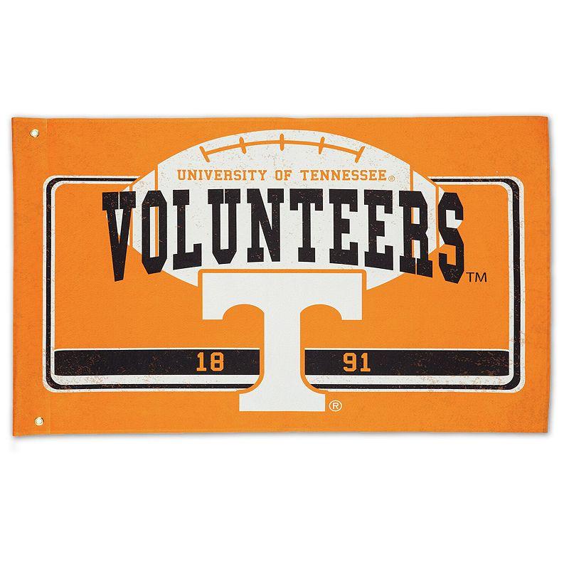 "Tennessee Volunteers 36"" x 52"" Linen Estate Flag"