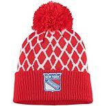 Men's adidas Red New York Rangers Culture Netminder Cuffed Knit Hat