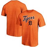 Men's Majestic Heathered Orange Detroit Tigers Basic T-Shirt