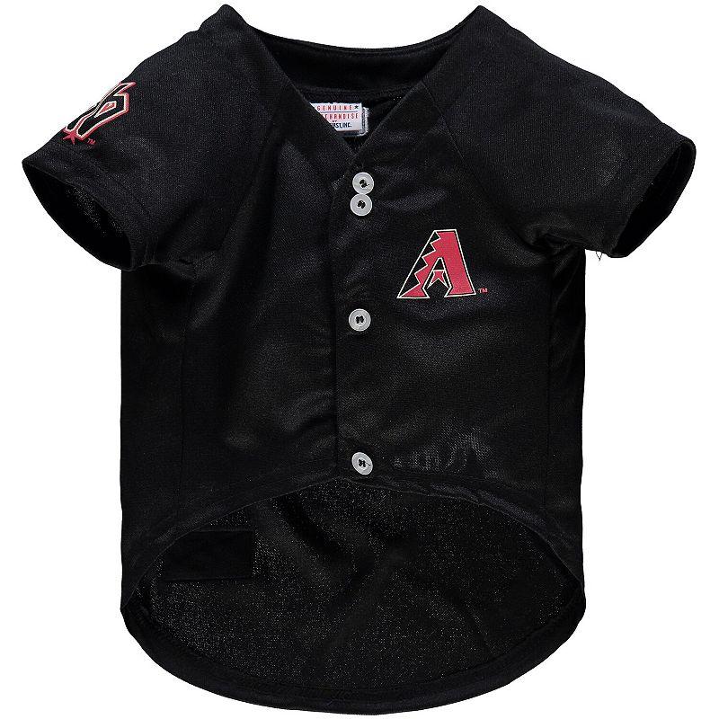 Arizona Diamondbacks MLB Dog Jersey, Size: Medium