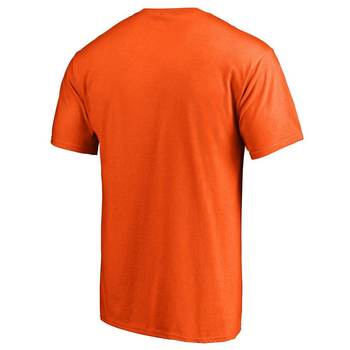 Men's Orange Baltimore Orioles Victory Arch T-Shirt pi7d6