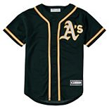 Youth Green Oakland Athletics Alternate Replica Blank Team Jersey