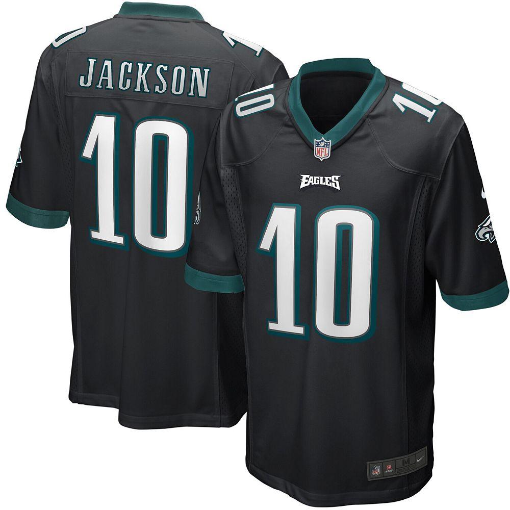 Men's Nike DeSean Jackson Black Philadelphia Eagles Game Jersey