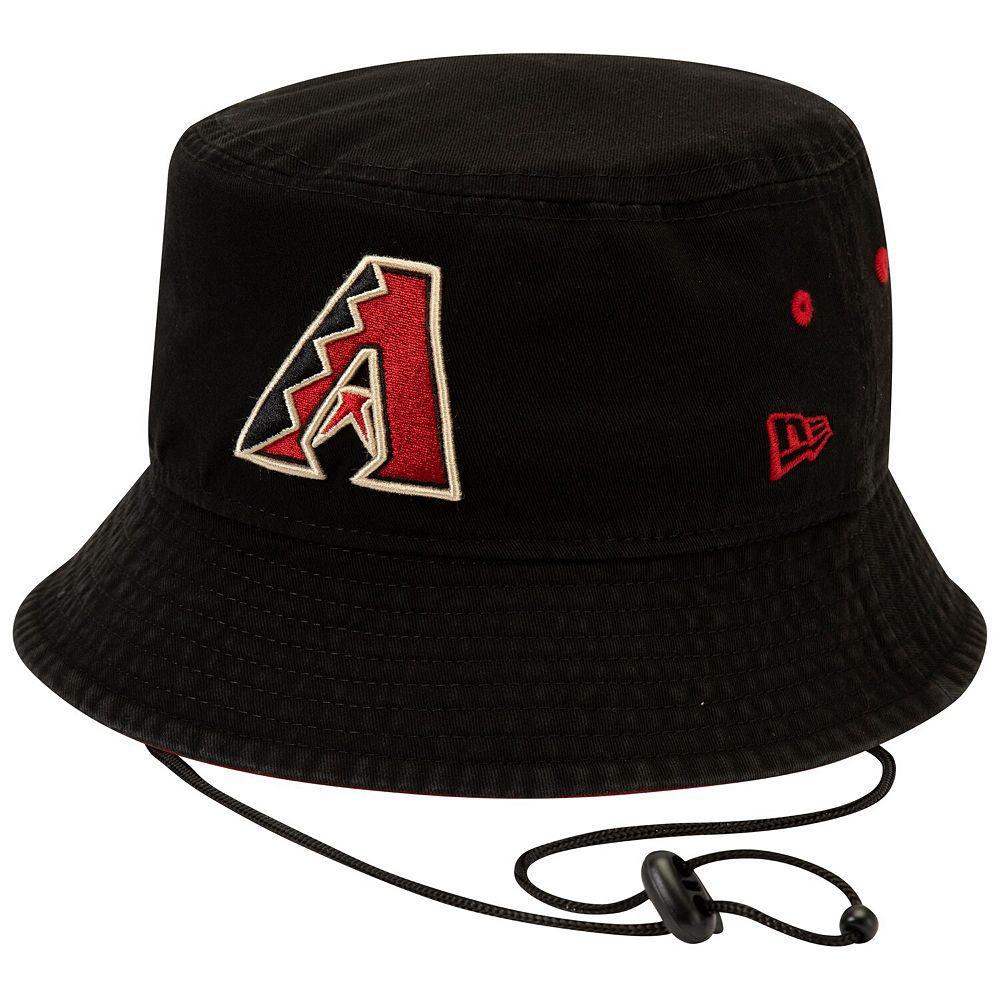 Men's New Era Black Arizona Diamondbacks Shoreline Bucket Hat